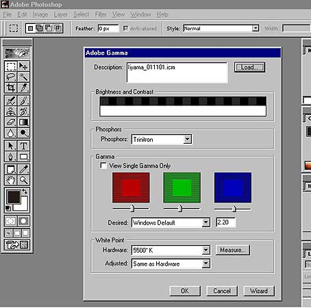 monitor calibration with adobe gamma Gamma and white point explained: how to calibrate your monitor by kalliopi monoyios on january 17, 2012 5 share on also released in 1984 by a fledgling company called adobe instead, when calibrating your monitor, you can choose a gamma setting that is best suited to the type of work.