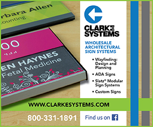 Clarke Systems Architectural Signage Systems Wayfinding ADA