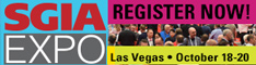 2018 SGIA Expo - Las Vegas, October 18-20, 2018