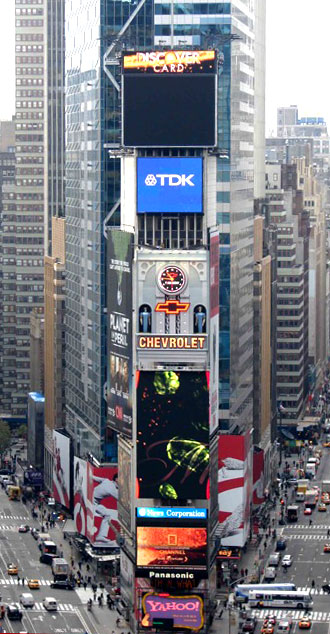 One Times Square A Global Icon Marks Time 2003 2010
