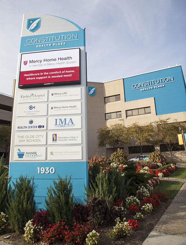 Constitution Health Plaza City 10mm LED Display in Pennsylvania