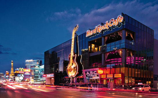 Hard Rock Cafe An Ode To The Guitar
