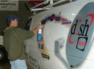 Vinyl Graphic Removal Made Easy - Custom vinyl sign graphics   removal options